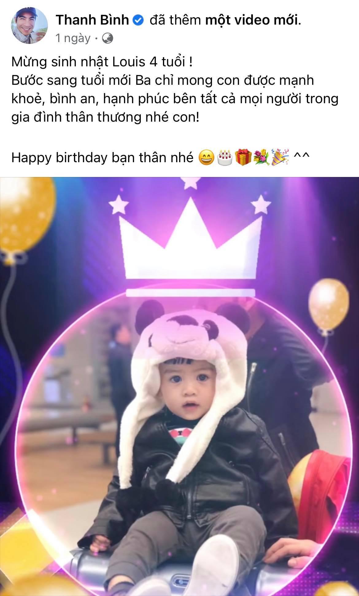 Ngọc Lan kỳ quặc tổ chức sinh nhật cho con trai Thanh Bình vắng mặt nhưng có hành động đặc biệt dành cho bé - Ảnh 5.