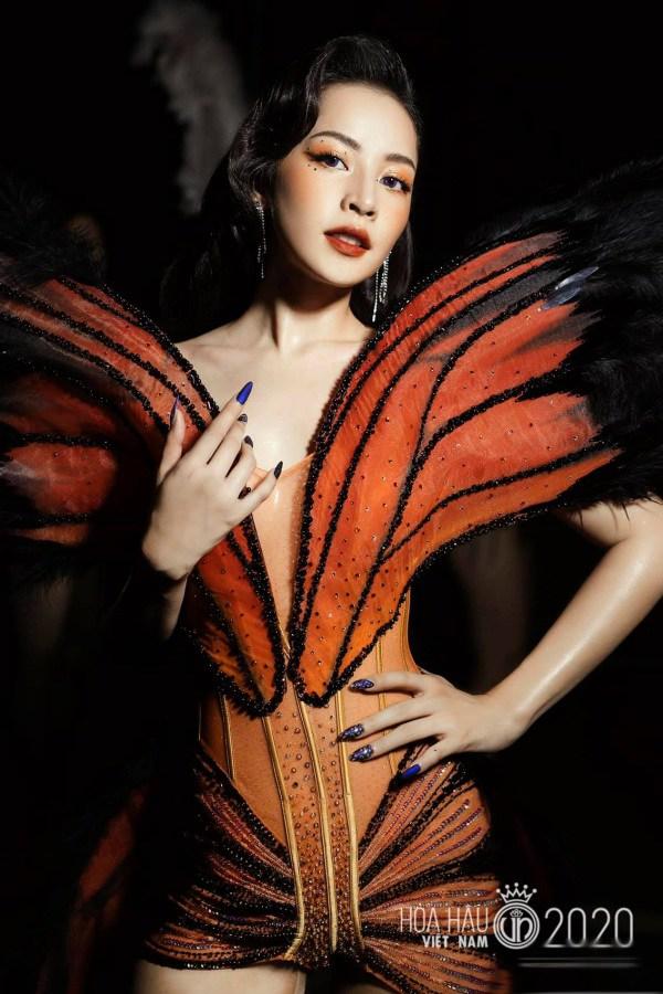 Nhìn chiếc đầm Cánh bướm dối gian của Phí Phương Anh, người ta lại nhớ ngay tới bộ váy từng gây tranh cãi của Chi Pu - Ảnh 2.