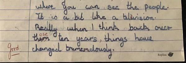 Bài văn bí ẩn cách đây 52 năm của cô bé 11 tuổi khiến người đọc choáng vì tiên tri đúng với hiện tại, gây chú ý nhất là đoạn cuối - Ảnh 3.