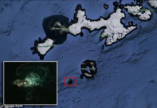 Những thuỷ quái khổng lồ vô tình được Google Earth ghi lại, nhìn rất khó tin! - ảnh 1