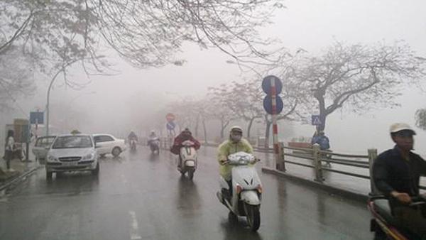 Đón thêm đợt không khí lạnh mới, Hà Nội chuyển mưa rét nền nhiệt thấp nhất 16 độ C - ảnh 1