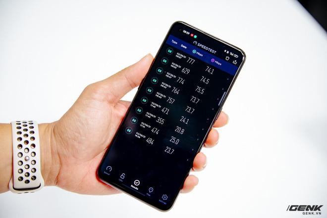 Trên tay OPPO Reno 5 5G: Snapdragon 765G, SuperVOOC 2.0 65W 5 phút sạc được 4 giờ dùng, modem 5G cho tốc độ lên đến 1,2Gbps - ảnh 9