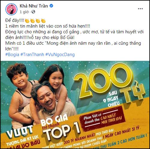 MXH mở tiệc ăn mừng Bố Già thắng 200 tỷ: Ngô Thanh Vân Chơi vậy ai chơi lại anh, Ninh Dương Lan Ngọc gọi luôn tượng đài - Ảnh 9.