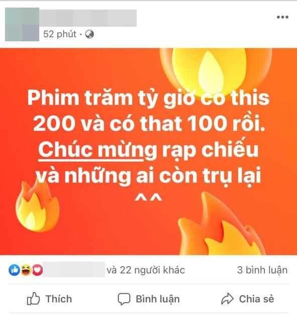 MXH mở tiệc ăn mừng Bố Già thắng 200 tỷ: Ngô Thanh Vân Chơi vậy ai chơi lại anh, Ninh Dương Lan Ngọc gọi luôn tượng đài - Ảnh 3.
