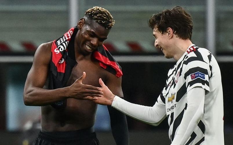 Pogba trở lại và ghi bàn đưa MU vào tứ kết Europa League
