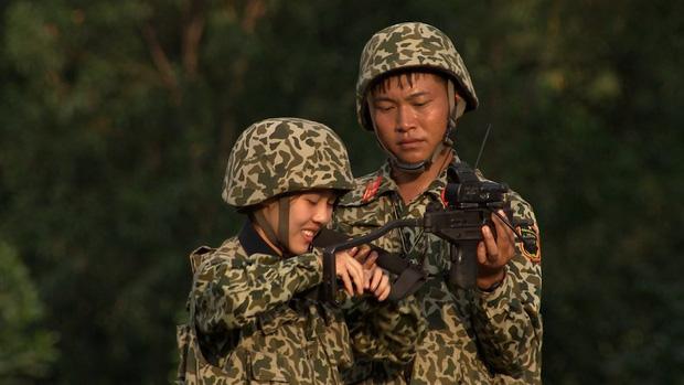 Hậu Hoàng: Từ cô bạn thân 'nhập ngũ ké' Khánh Vân đến nhân vật hot nhất nhì Sao Nhập Ngũ 005
