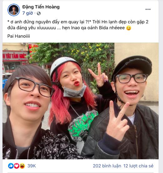 ViruSs ra Hà Nội hẹn hò ngay với cặp đôi MCK - Tlinh và người buồn nhất chính là GDucky 001