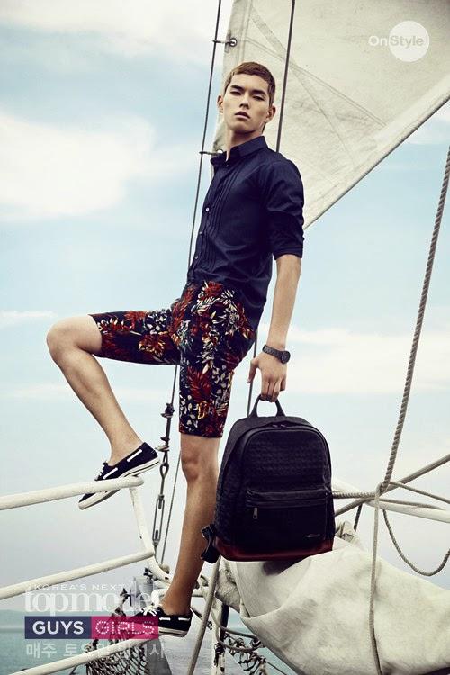 Hóa ra rich kid Penthouse Han Ji Hyun còn có em trai sinh đôi là Á quân Korea's Next Top Model! - ảnh 12