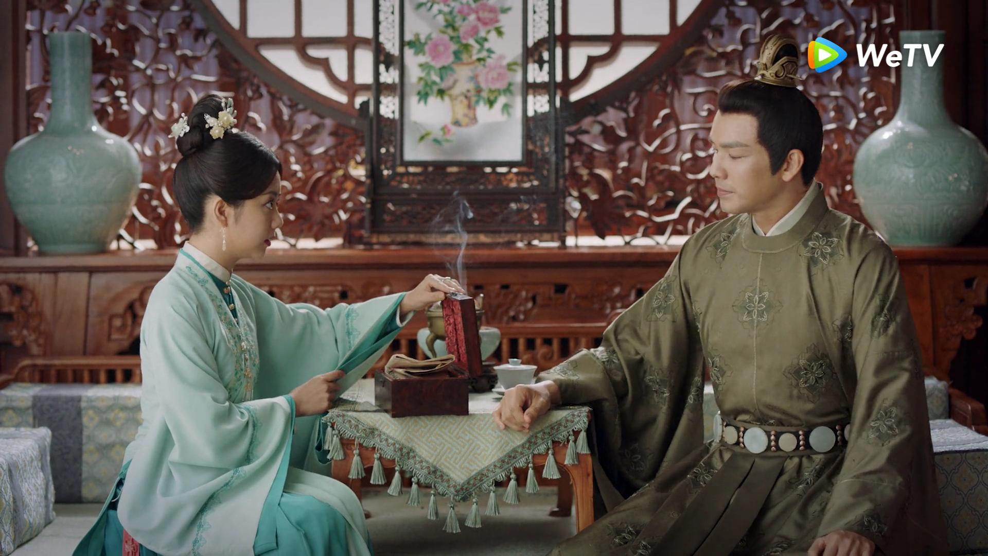 Chung Hán Lương công khai dẫn con riêng tin đồn về nhà, bị trà xanh hại suýt thiệt mạng ở Cẩm Tâm Tựa Ngọc - Ảnh 10.