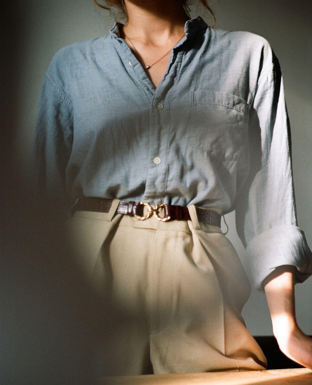 Điểm mặt 5 kiểu áo sơ mi của phụ nữ Pháp, chỉ cần diện đơn giản cũng đạt 100 điểm tinh tế! - Ảnh 11.