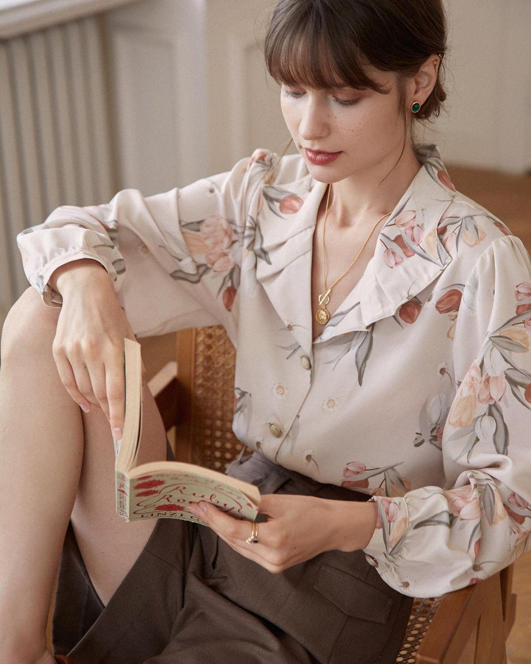 Điểm mặt 5 kiểu áo sơ mi của phụ nữ Pháp, chỉ cần diện đơn giản cũng đạt 100 điểm tinh tế! - Ảnh 5.