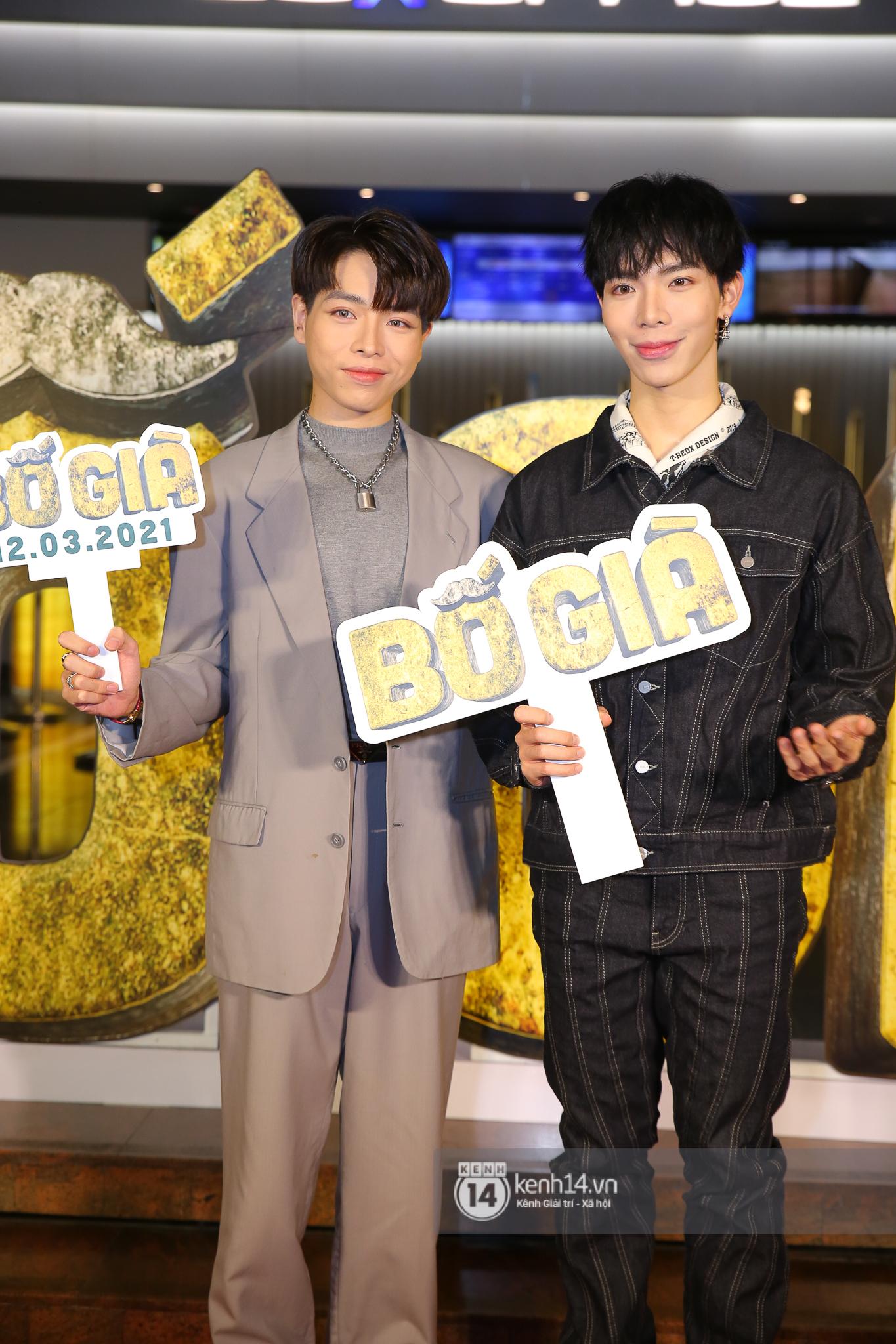 Cặp đôi nhà Đông Nhi, Lệ Quyên thi nhau show ân ái không kém cạnh Trấn Thành - Hariwon ở siêu thảm đỏ Bố Già - Ảnh 9.