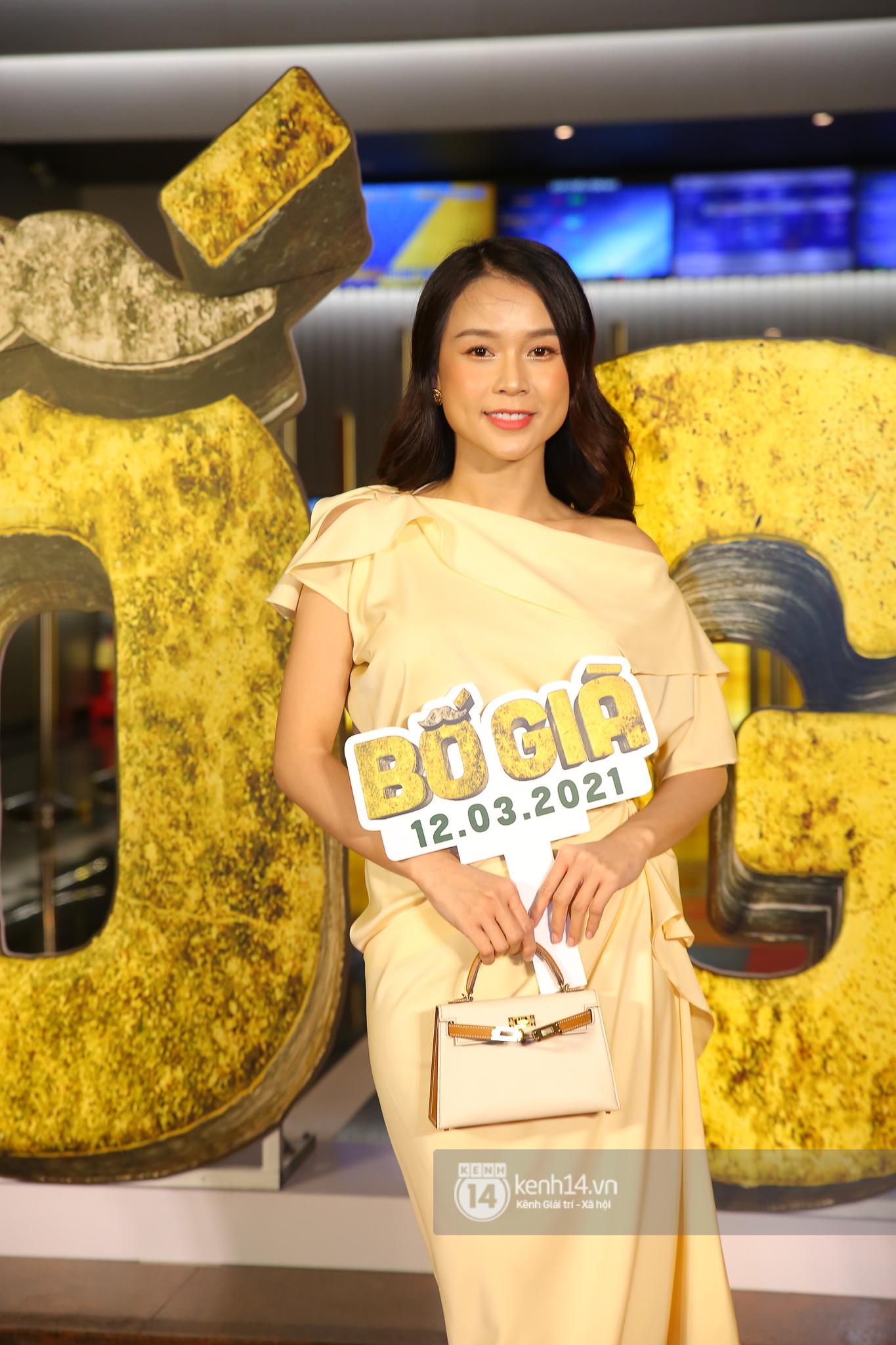 Cặp đôi nhà Đông Nhi, Lệ Quyên thi nhau show ân ái không kém cạnh Trấn Thành - Hariwon ở siêu thảm đỏ Bố Già - Ảnh 17.