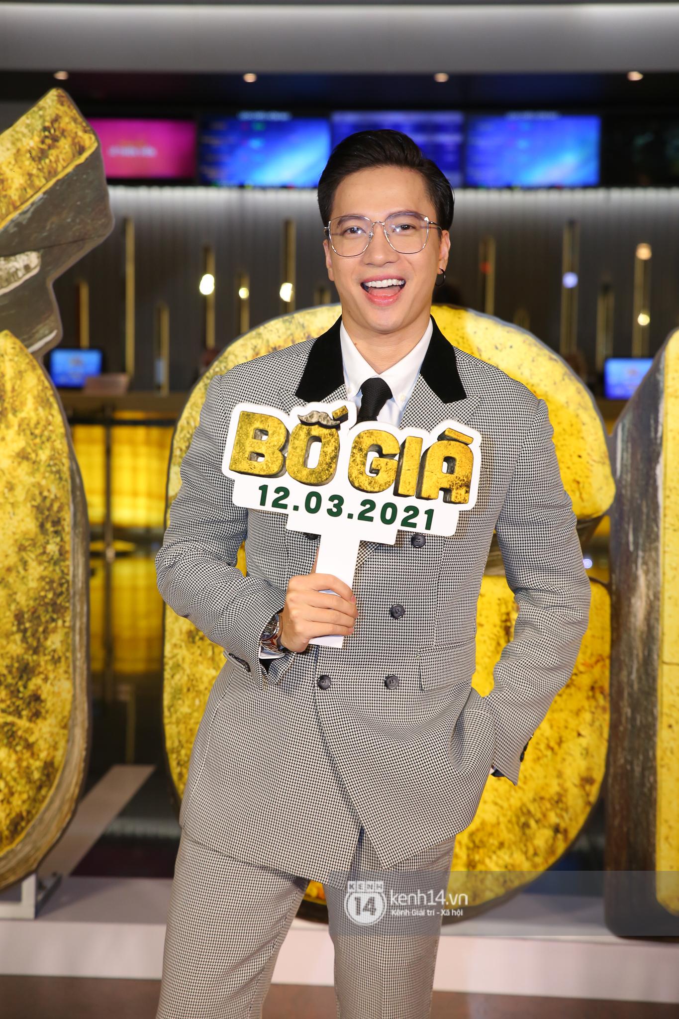 Cặp đôi nhà Đông Nhi, Lệ Quyên thi nhau show ân ái không kém cạnh Trấn Thành - Hariwon ở siêu thảm đỏ Bố Già - Ảnh 13.