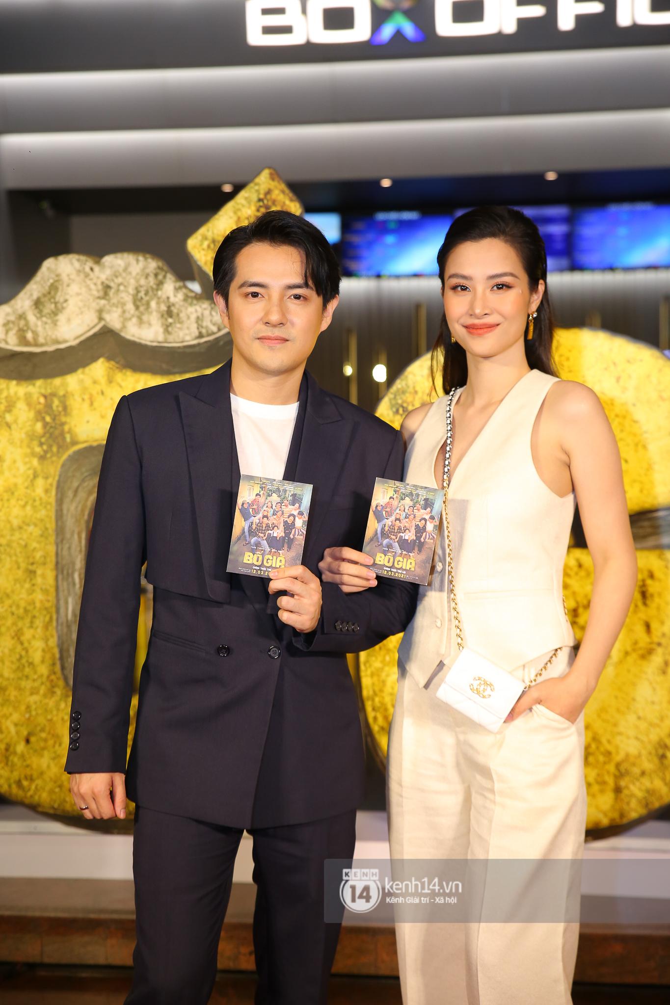 Cặp đôi nhà Đông Nhi, Lệ Quyên thi nhau show ân ái không kém cạnh Trấn Thành - Hariwon ở siêu thảm đỏ Bố Già - Ảnh 3.
