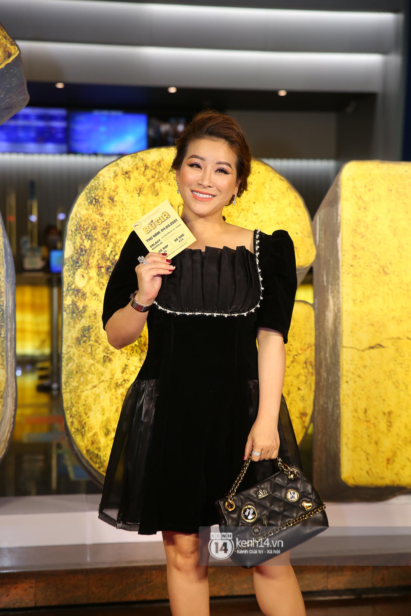 Cặp đôi nhà Đông Nhi, Lệ Quyên thi nhau show ân ái không kém cạnh Trấn Thành - Hariwon ở siêu thảm đỏ Bố Già - Ảnh 24.