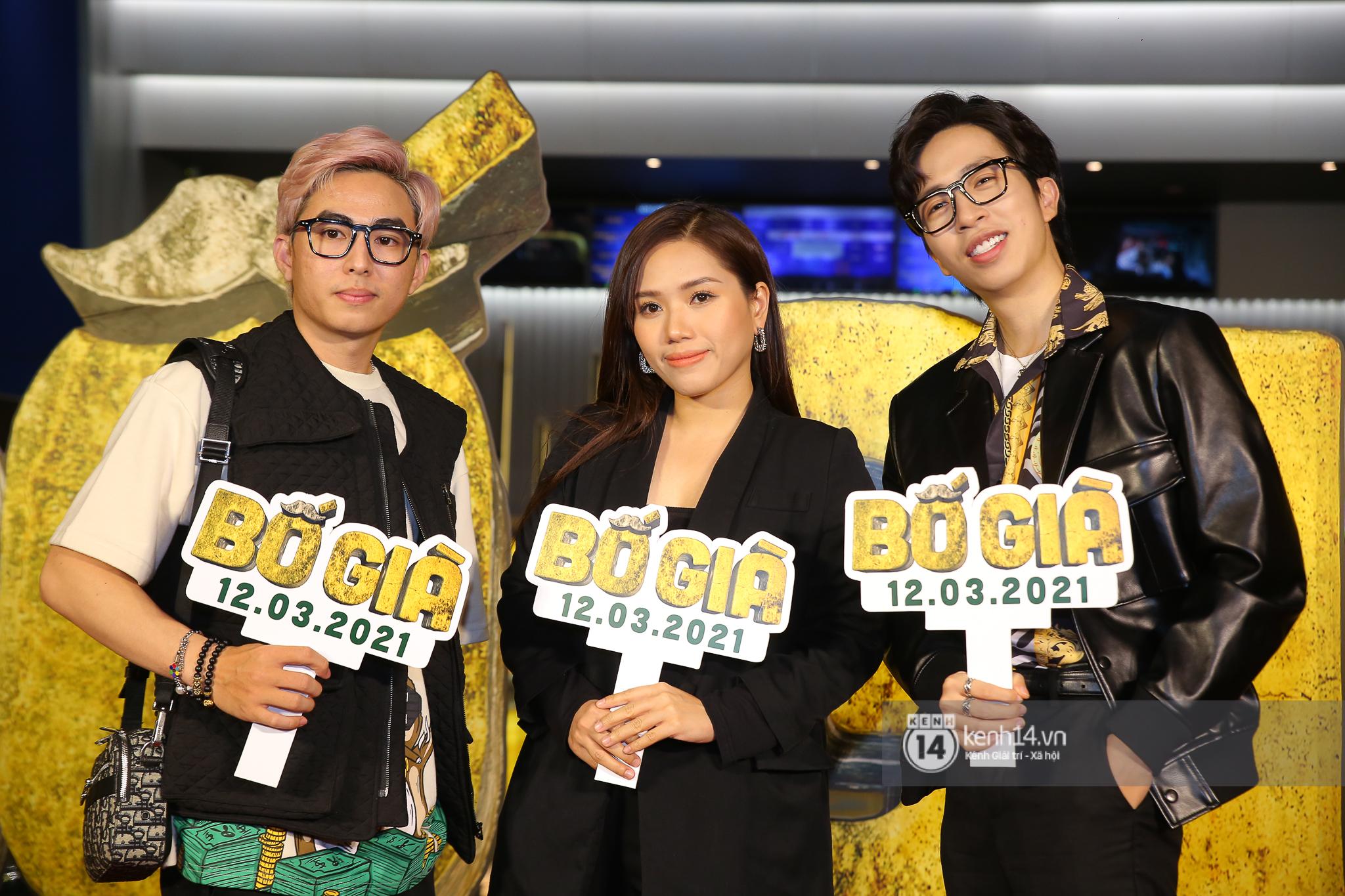 Cặp đôi nhà Đông Nhi, Lệ Quyên thi nhau show ân ái không kém cạnh Trấn Thành - Hariwon ở siêu thảm đỏ Bố Già - Ảnh 38.