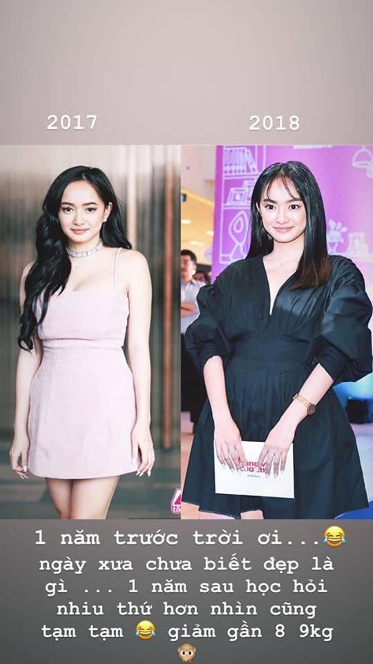Hành trình nhan sắc của Kaity Nguyễn: Từ hotgirl ngực khủng đến ngọc nữ, lột xác ngoạn mục nhờ hút mỡ vòng 1 và giảm 9kg - ảnh 11