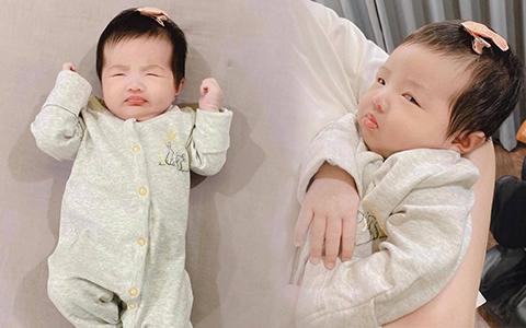 """""""Thánh meme thế hệ mới"""" gọi tên con gái Đông Nhi: Từ cute """"hột me"""" đến ăn vạ đủ cả, bảo sao vừa lập Instagram đã có cả chục nghìn fan"""