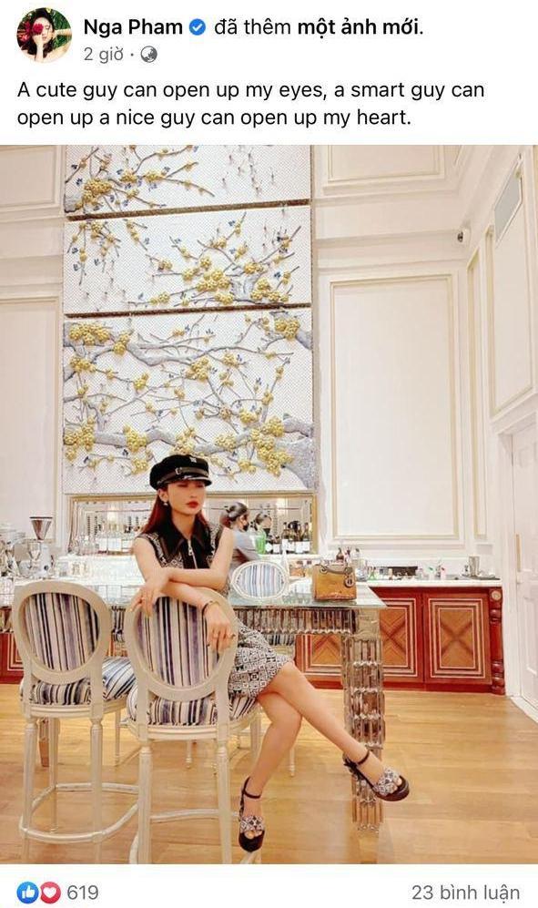 Mina Phạm - vợ 2 Minh Nhựa gặp tai nạn sống ảo khi đăng status tiếng Anh nhưng copy thiếu - ảnh 1