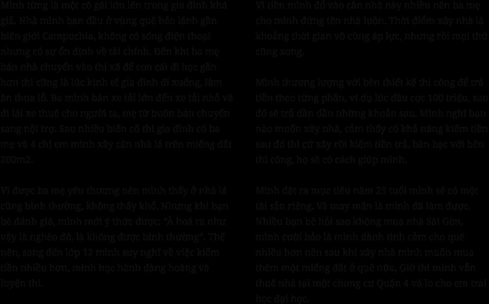 5 câu chuyện người trẻ mua nhà tiền tỷ trước tuổi 30: Thêm nợ, nhưng không thêm sợ, mà thêm động lực để cố gắng - Ảnh 10.