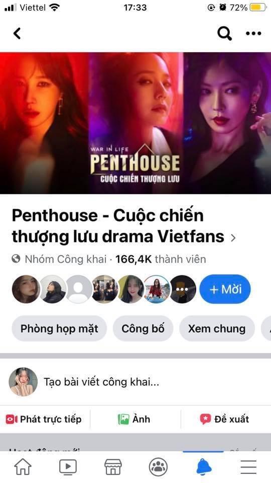 Nghi vấn group fanpage phim Penthouse với hơn 166.000 thành viên bỗng nhiên đổi chủ, cộng đồng mạng tức tối, tranh cãi gay gắt! - ảnh 1