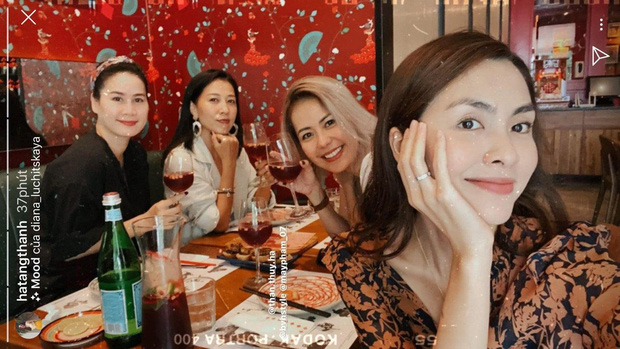 Ha Tang met with friends for ten years: the beauty of the jewel overwhelmed both Bang Di and his wife Pham Anh Khoa - Photo 5.