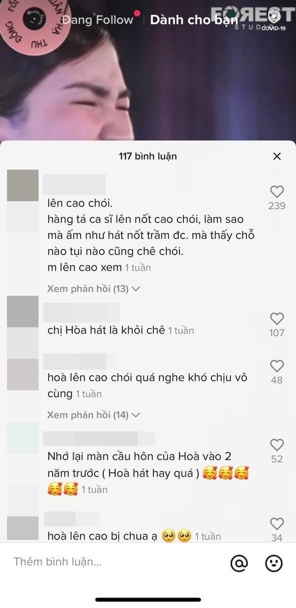 Hòa Minzy cover hit của Văn Mai Hương, bắn nốt cao chót vót nhưng phản ứng của netizen không như mong đợi - ảnh 3