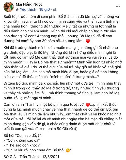 Hari Won nhắn gửi Đông Nhi sau bài đăng khen Bố Già: Anh chị chưa có con như em, chưa cảm nhận rõ cảm xúc của em được - Ảnh 4.
