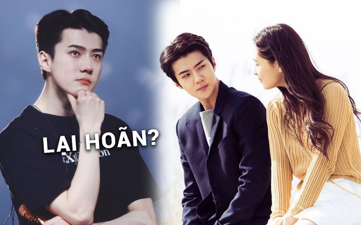Phim hợp tác Trung - Hàn của Sehun lại hoãn chiếu đột ngột trước giờ G, MXH khóc ròng vì