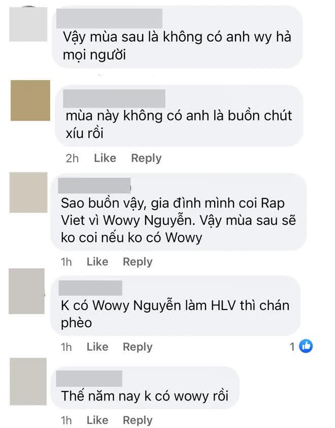Lão đại Wowy ẩn ý sẽ không trở lại Rap Việt mùa 2? 003