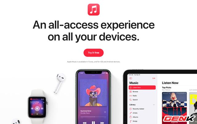 Cách đăng ký nhận 3 tháng dùng thử miễn phí Apple Music trên iPhone - ảnh 1
