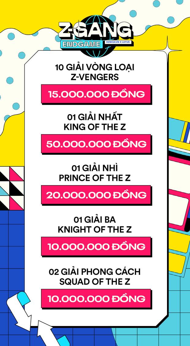 ZGang Endgame: Cuộc thi kỷ yếu có tổng giải thưởng lên tới 500 triệu chính thức mở cổng gửi bài thi! - ảnh 4