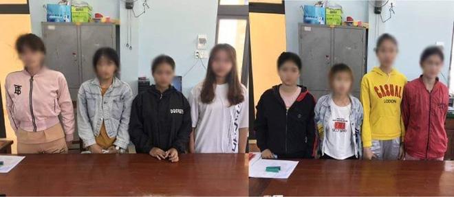 """Giải cứu 8 thiếu nữ bị ép phục vụ tiếp khách, bán dâm khỏi """"động quỷ"""" - ảnh 1"""