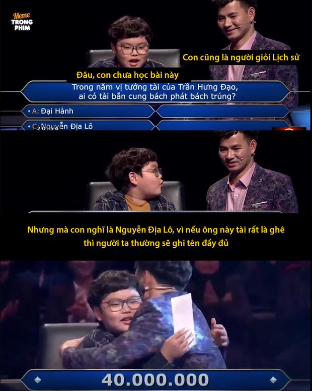 Đóng giả phóng viên VTV, Bi Béo nhà Xuân Bắc khiến bố đứng hình trước loạt câu hỏi khó nhằn - ảnh 3
