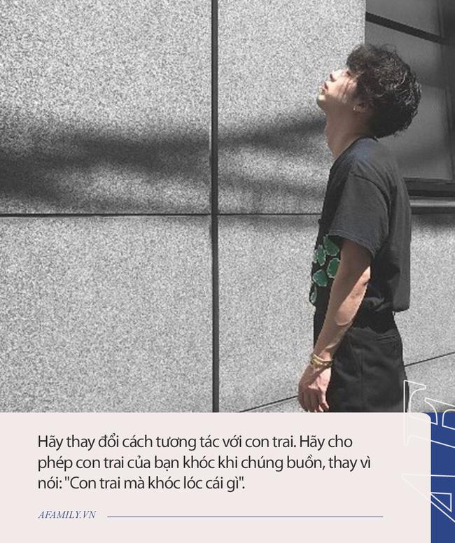 Một cậu bé tiểu học rơi từ tầng cao xuống đất sau khi để lại thư tuyệt mệnh, và câu hỏi khiến nhiều phụ huynh giật mình: Tại sao tỷ lệ tự tử ở nam sinh luôn cao hơn? - ảnh 5