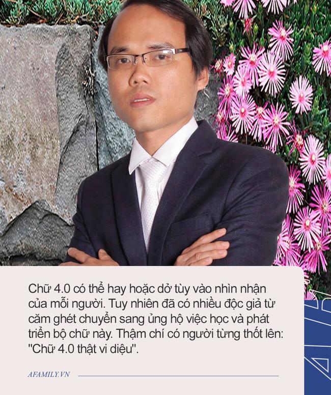 Tác giả Chữ Việt Nam song song 4.0: Dự định in sách và vận động dạy chữ mới ở trường THPT và đại học, sẽ dạy chữ mới cho các con khi đủ tuổi - ảnh 3