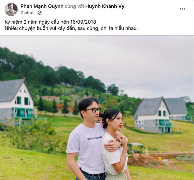 5 năm yêu của Phan Mạnh Quỳnh và vợ hotgirl: Từ bị hoài nghi đến màn cầu hôn gây sốt, chàng cưng nàng số 1 thấy mà ghen! - ảnh 6