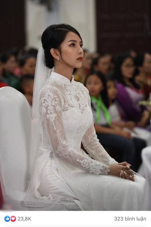 Chỉ một góc nghiêng chụp cô dâu của Phan Mạnh Quỳnh, dân mạng tưởng Vũ Cát Tường để tóc dài lại còn gọi tên cả vợ Công Phượng - ảnh 2