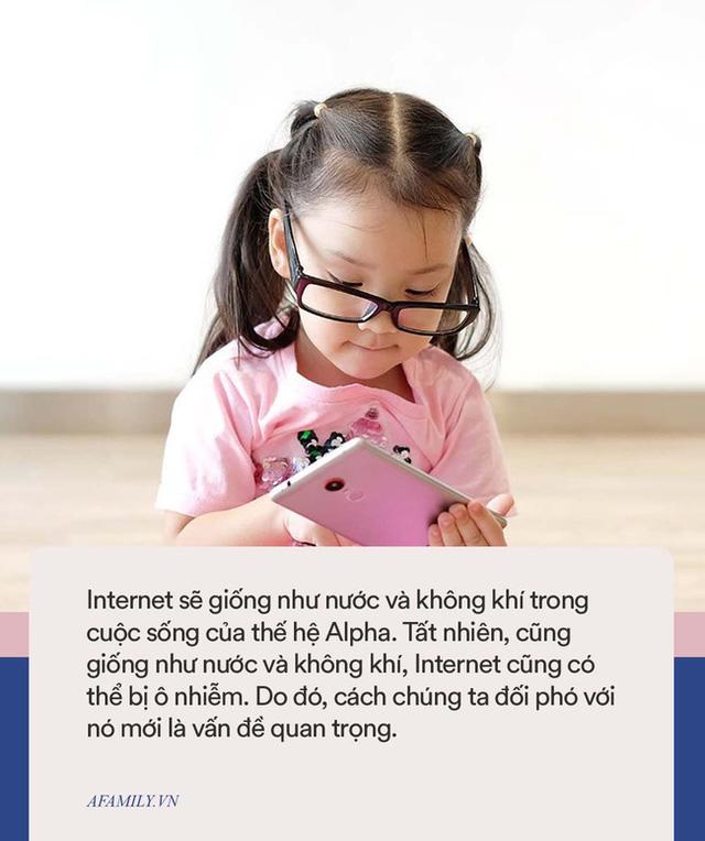 Thế hệ Alpha cần Internet như nước và không khí, nhưng không làm được việc này cha mẹ sẽ khiến con bị ô nhiễm - ảnh 3
