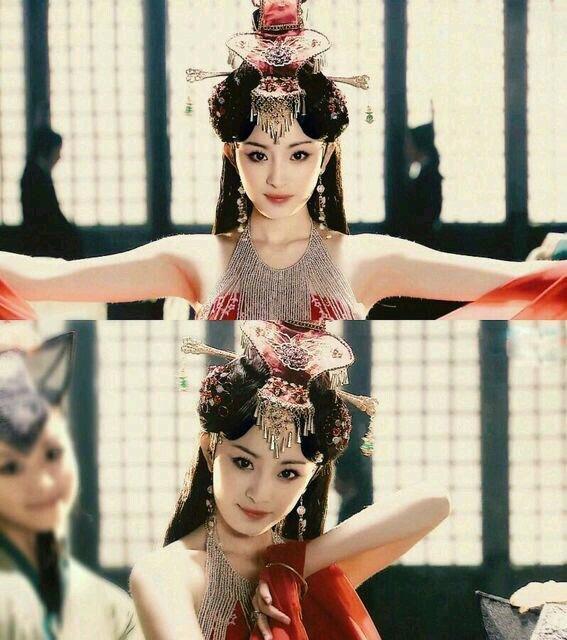 8 lần Dương Mịch hóa mỹ nhân cổ trang đẹp bá cháy: Số 5 quá kinh điển, so kè với cả Lưu Diệc Phi - Lâm Tâm Như - Ảnh 3.