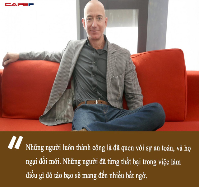 """Tỷ phú Jeff Bezos gây bất ngờ về tiêu chí tuyển dụng: Tại sao người không gục ngã sau thất bại """"đáng giá hơn"""" những kẻ quá quen với thành công? - ảnh 2"""