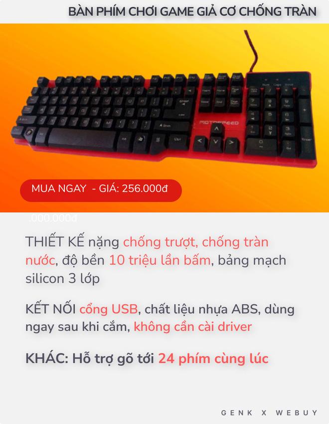 """4 bàn phím chống tràn dành cho """"team hậu đậu"""": Giá chỉ từ 110K, nhiều loại kết nối không dây cực tiện - ảnh 2"""