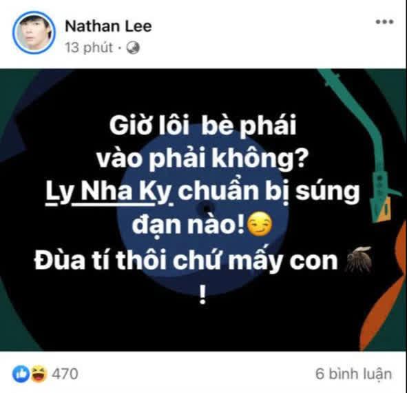 Nước cờ mới của Nathan Lee: Lôi cả Lý Nhã Kỳ vào cuộc, còn đòi chọi cả kim cương giữa drama cực căng với Ngọc Trinh - ảnh 1