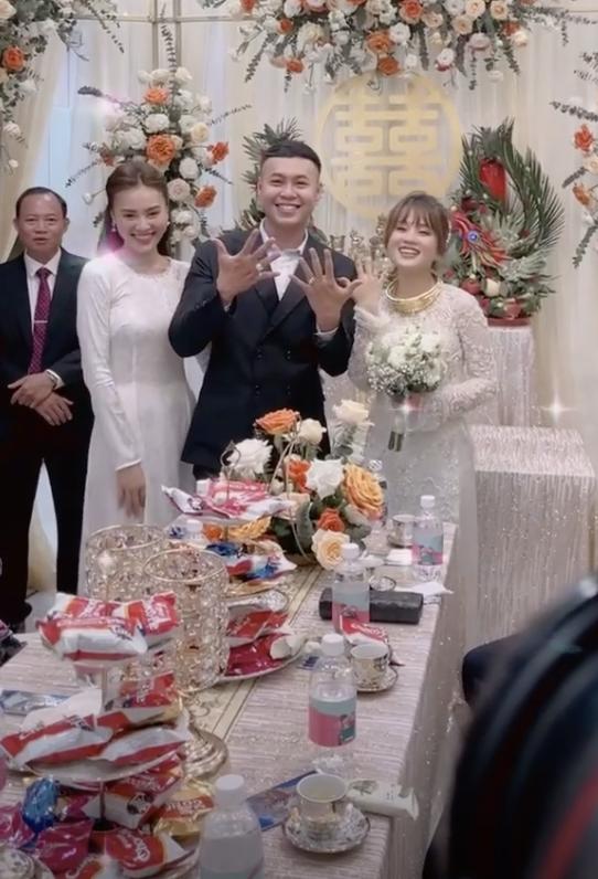 Diện áo dài dự đám cưới em trai, Lan Ngọc khiến netizen ngẩn ngơ vì nhan sắc xinh đẹp, sợ chiếm luôn spotlight của nhân vật chính - ảnh 3