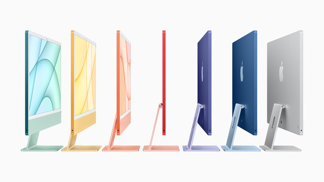 Cộng đồng mạng tranh cãi dữ dội vì 7 màu mới của iMac, kẻ bảo kém sang, người khen xinh xắn? - ảnh 1