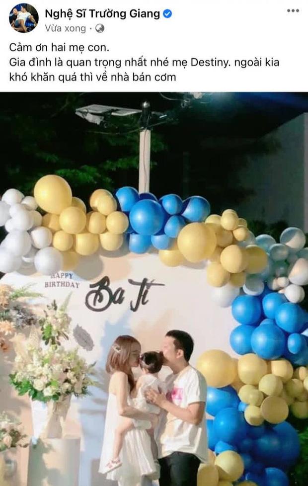 Trường Giang một mình đón sinh nhật cùng bạn bè, Nhã Phương và con gái không xuất hiện trong phim truyền hình?  Ảnh 3.