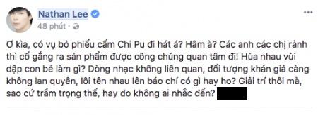 Ngọc Trinh đăng clip với Chi Pu giữa drama, dân tình nhớ lại năm xưa Nathan Lee là người hiếm hoi ủng hộ Chi Pu đi hát - ảnh 3