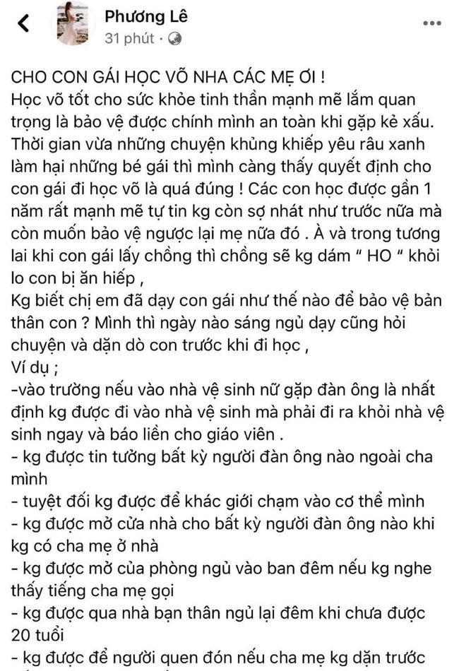 Sau vụ bé gái 5 tuổi bị xâm hại, Hoa hậu Phương Lê tiết lộ 7 điều không để con gái nhỏ được bảo vệ trước nạn ấu dâm - ảnh 3
