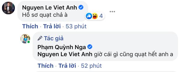 Định nghĩa thính 18 đều như vắt tranh: Quỳnh Nga cứ khoe body ngồn ngộn, Việt Anh auto vào bình luận nghe mà đỏ cả mặt - Ảnh 6.